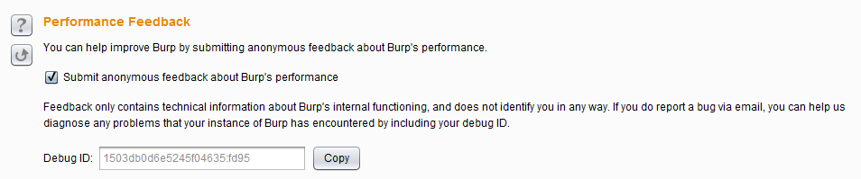 burpsuite全局参数设置